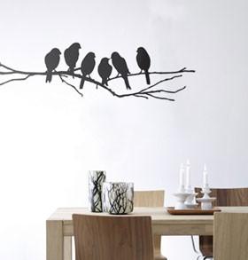 Wall birds